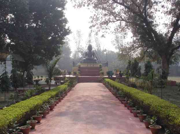 A Jain temple in Sarnath