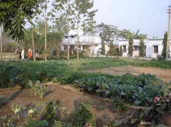 The Vipassana centre in Sarnth