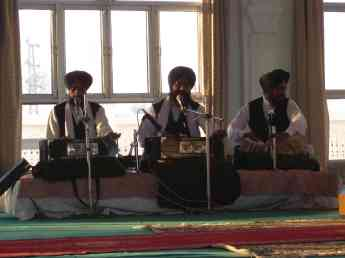 These three priests churned out some amazing kirtan