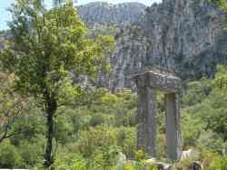 The ruins of Termessos