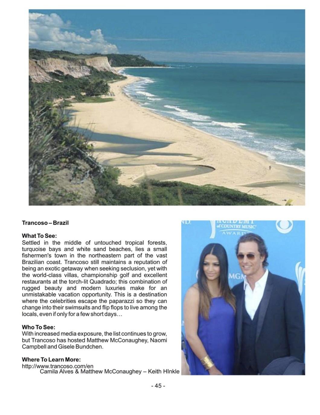 Celebrity Getaways 4 | Damon M Banks
