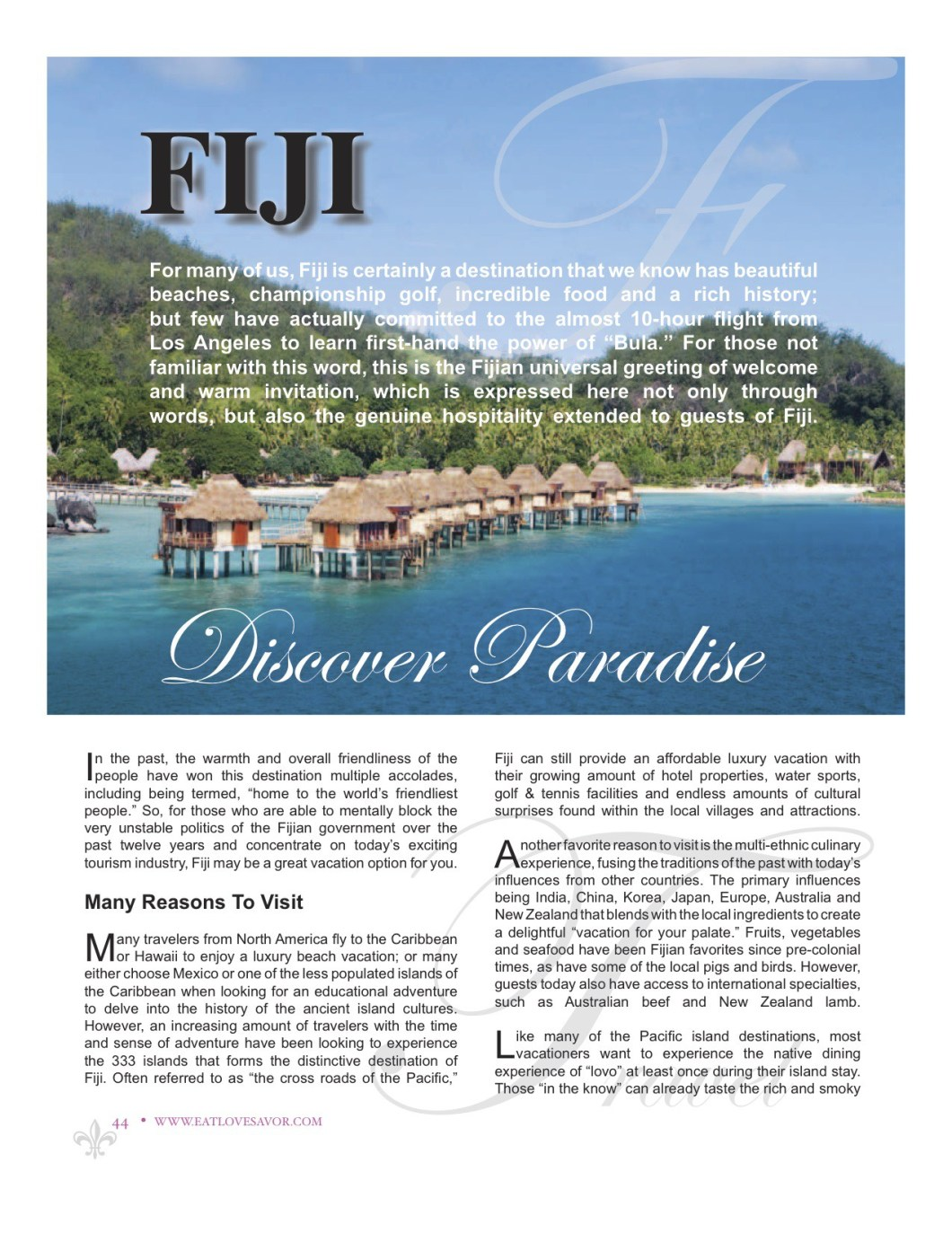 Fiji-2 | Damon M Banks