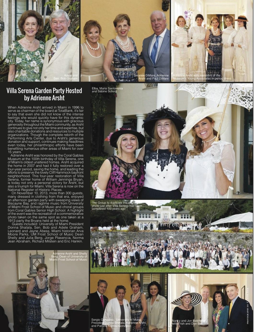 Global Living Magazine | Adrienne Arsht | By Damon M. Banks