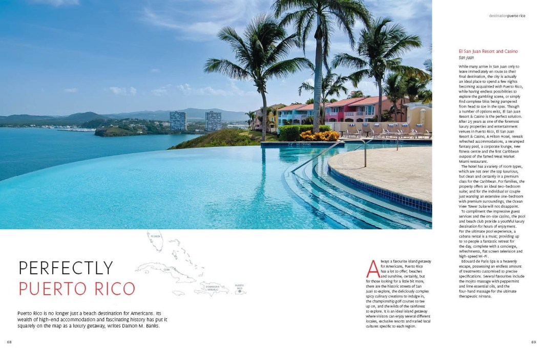 Perfectly Puerto Rico | Signature Magazine | Damon M. Banks