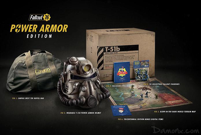 Collector Fallout 76 Power Armor Edition Collector