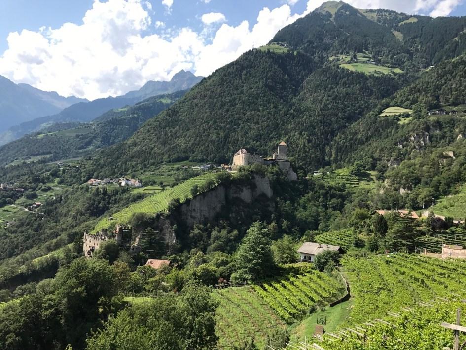 Blick von Dorf Tirol aus