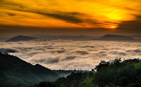 Sun rise at Millabedda, Sri Lanka_Uditha Wickramanayaka
