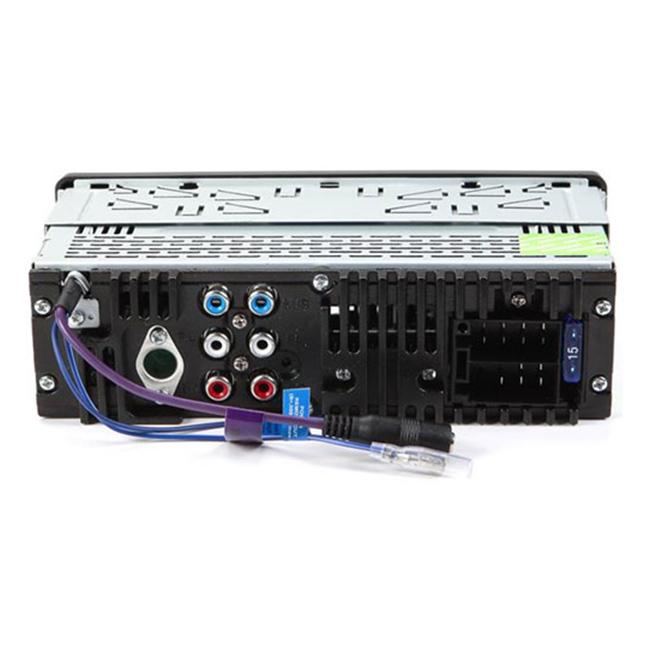 RECEPTOR DE CD/USB/ENTRADA AUXILIAR/SD/MP3/WMA CON BLUETOOTH INCORPORADO