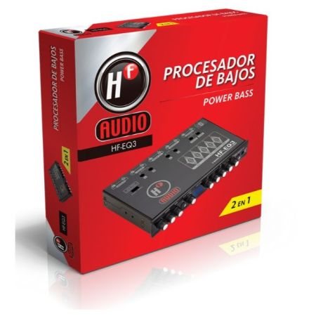 ECUALIZADOR HF AUDIO HF-EQ3