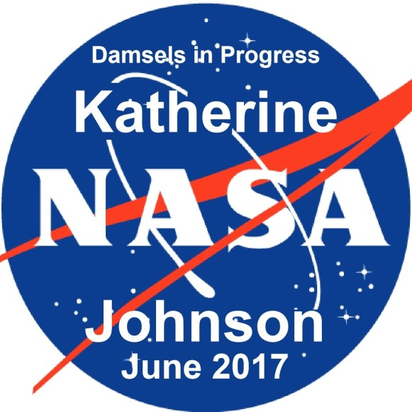 June 2017 Button single - Katherine Johnson
