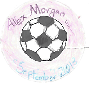 Alex Morgan Damsels in Progress button