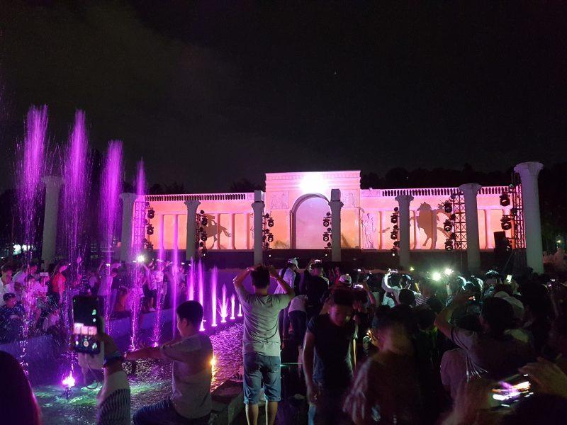 địa điểm tổ chức sự kiện quảng trường la mã