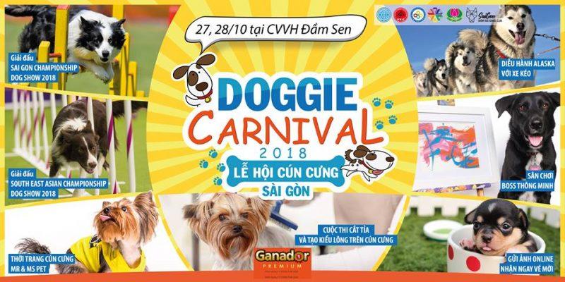 Lễ hội cún cưng Sài Gòn 2018