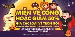 Đầm Sen – Lễ hội Halloween Kỳ Bí