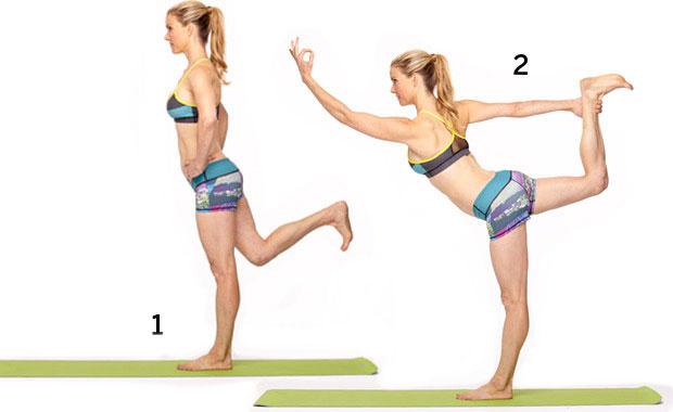 Йога упражнения 4
