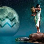 Жената Водолей в любовта