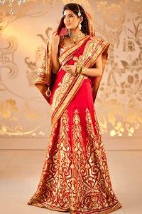 Индийско сари – как да го носим? 1