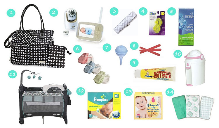 Списък за бъдещите майки с най-необходимите неща за бебето 2
