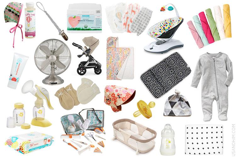 Списък за бъдещите майки с най-необходимите неща за бебето 5