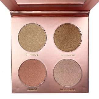 Damsly Beauty Mesmerizer highlighter palette
