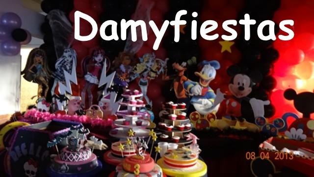 fiesta de monsther High y Mickey 04 de Agosto (13)