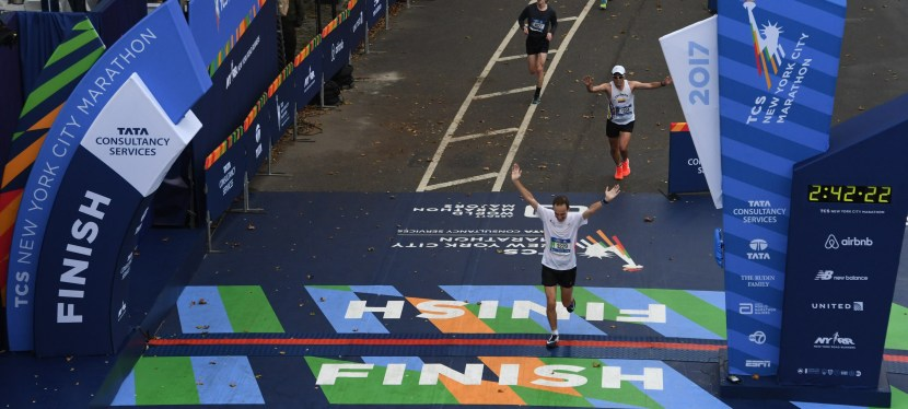 New York City marathon | 5 Nov 2017 | 02:42:17