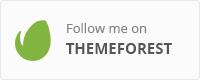 Follow me on Themeforest