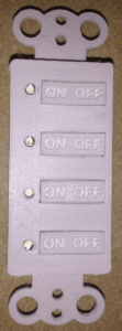 4 button keypad