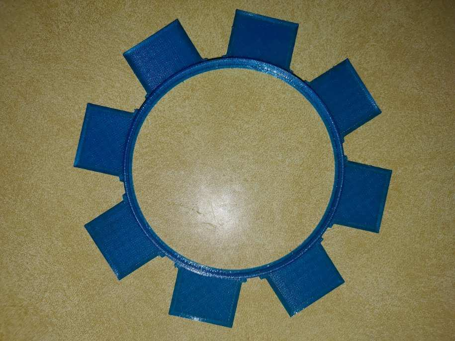 Replacement filter cover valve flaps