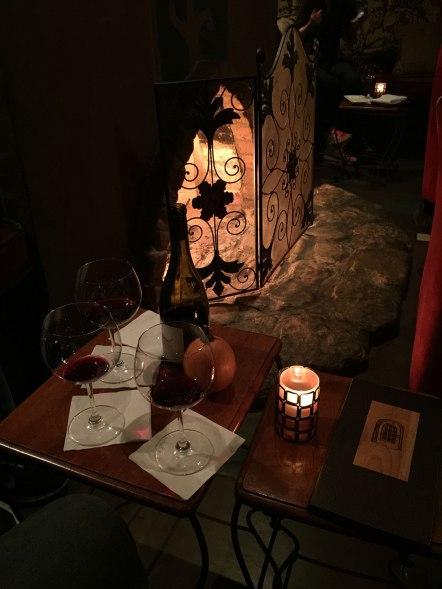 Wine bar - looks like Bilbo's living room!