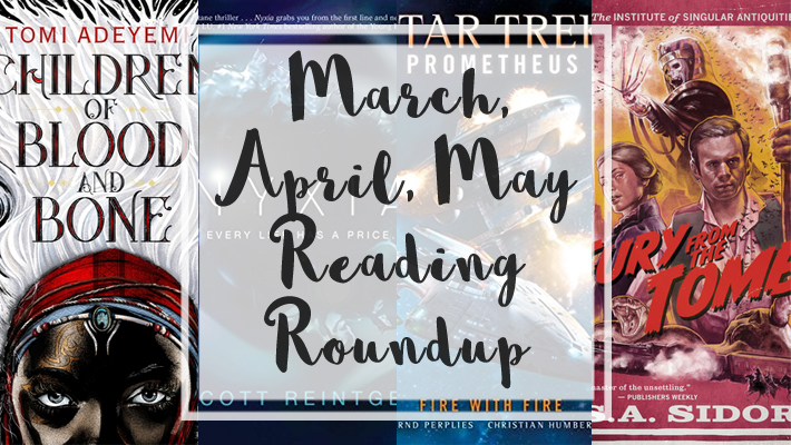 March April May Reading Roundup