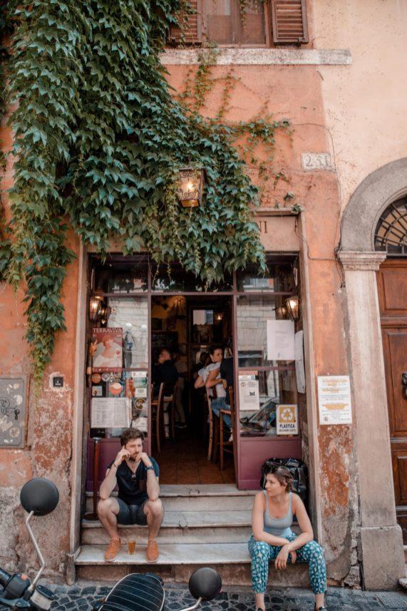 restaurants in rome Italy