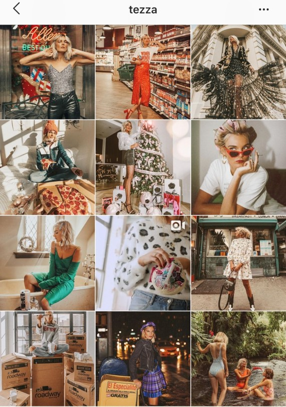 Organic Instagram Growth Tips: Inspiration Tezza