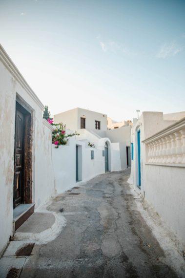 Santorini TaMegalochori Santoriniravel Guide Beyond Oia | Top things to do in Santorini | Dana Berez Greece Travel Guide
