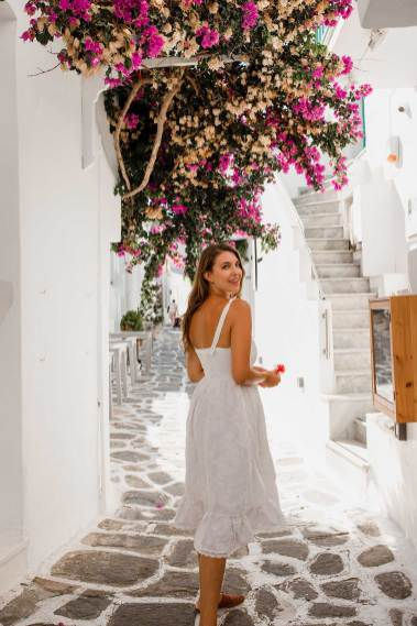 Woman in Paros