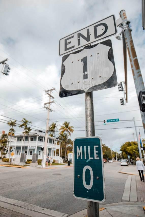 us 1 mile marker 0 key west