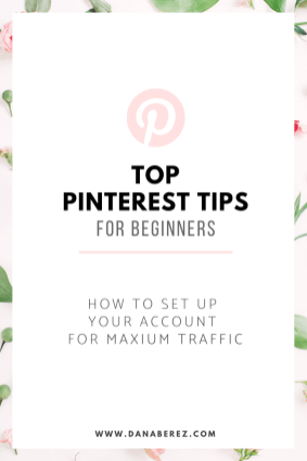 Top Pinterest Tips For Beginners. Everything you need to know on how to set up your Pinterest account for Success and gain major traffic to your website for Beginners.