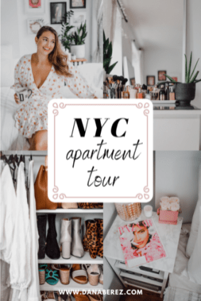 NYC Apartment tour in east Village Manhattan Dana berez 2