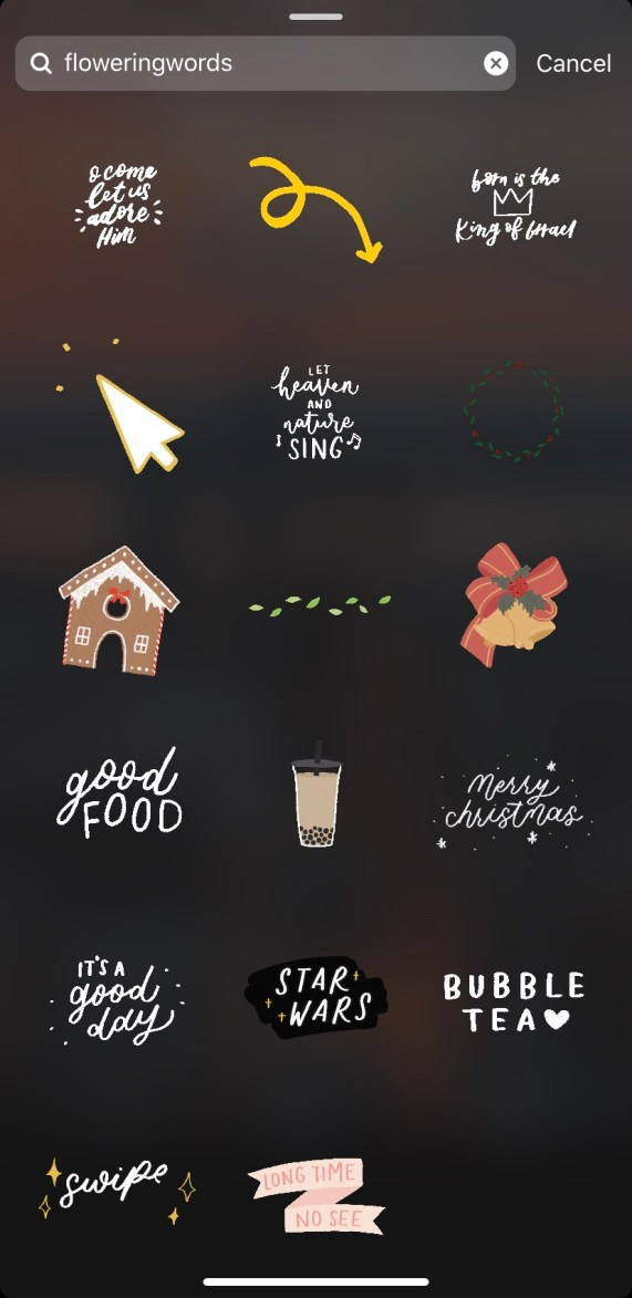 Cute Instagram Stickers to Make your Stories Better