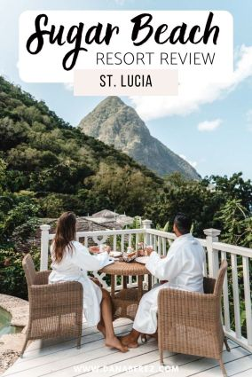 sugar beach st lucia resort review