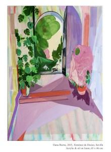 Ximénez de Enciso, Sevilla, 2015 Acrylic & oil on linen, 65 x 46 cm