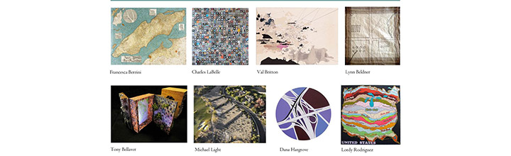 Mapping the Terrain, Group Exhibition San Francisco