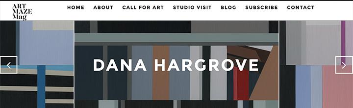 Art Maze Mag- Studio Visit Interview