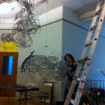 Installation for the Noyes Cultural Arts Center