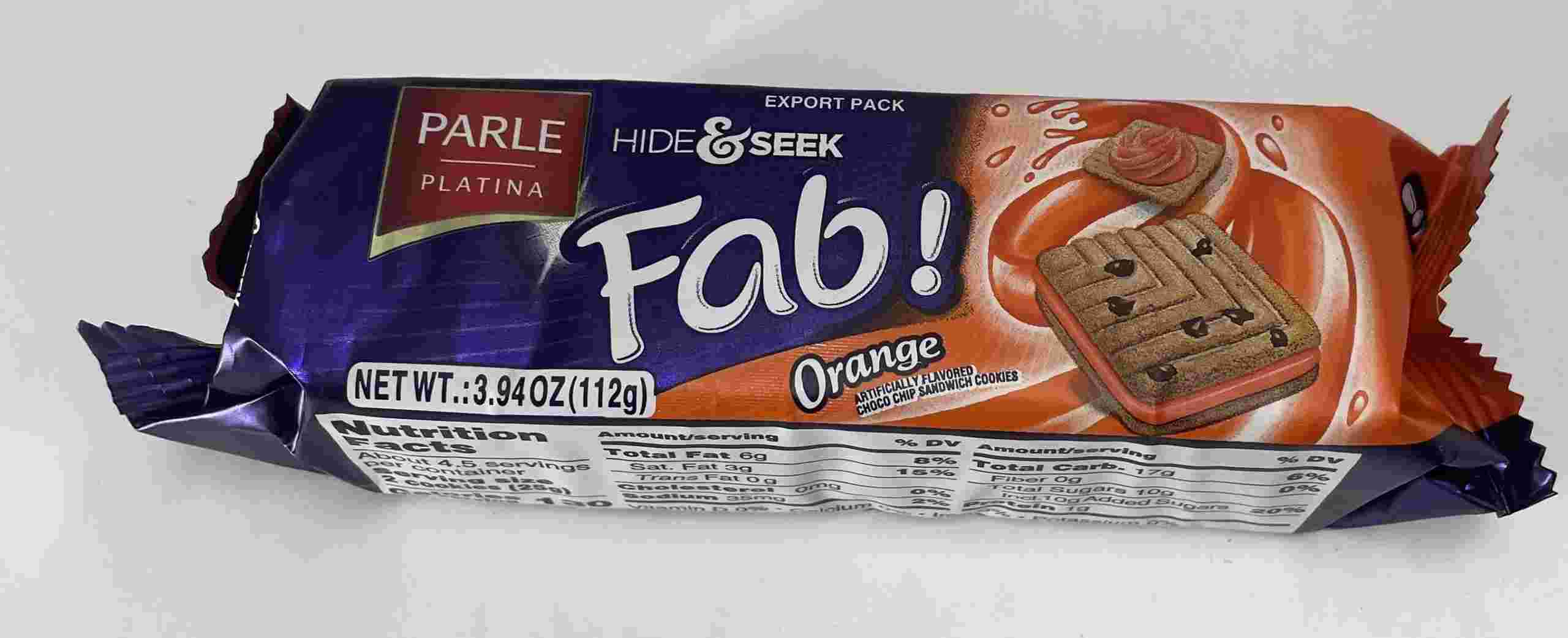Parle Hide & Seek Fab Orange