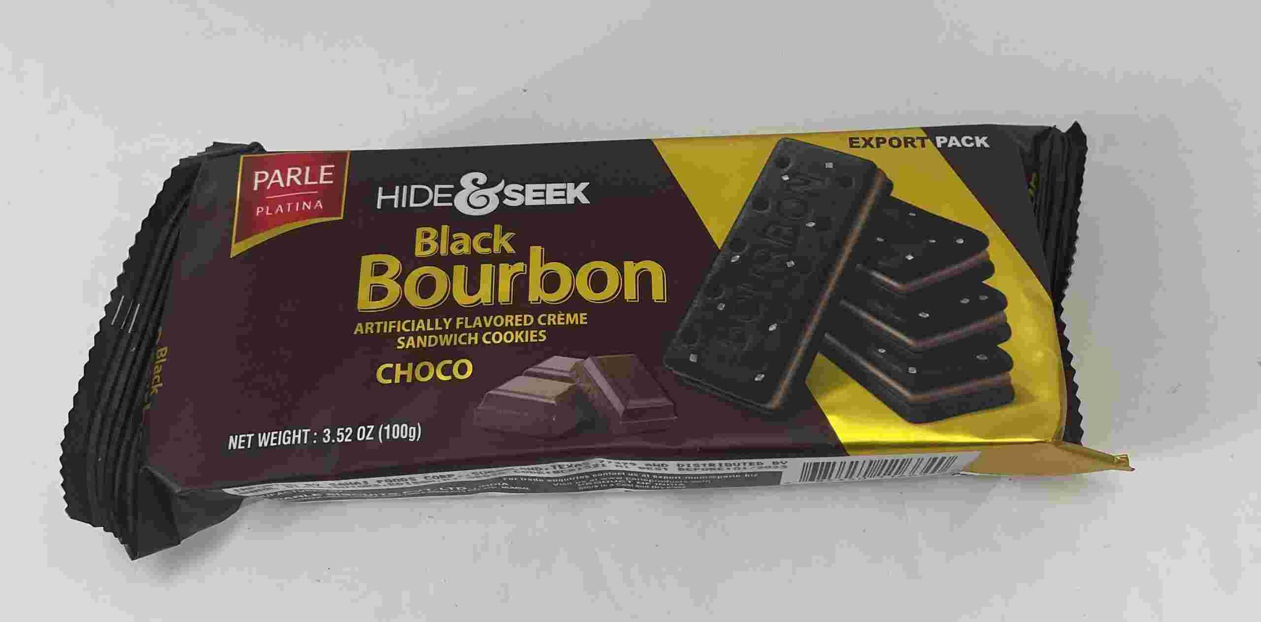 Parle Hide & Seek Black Bourbonn Choco