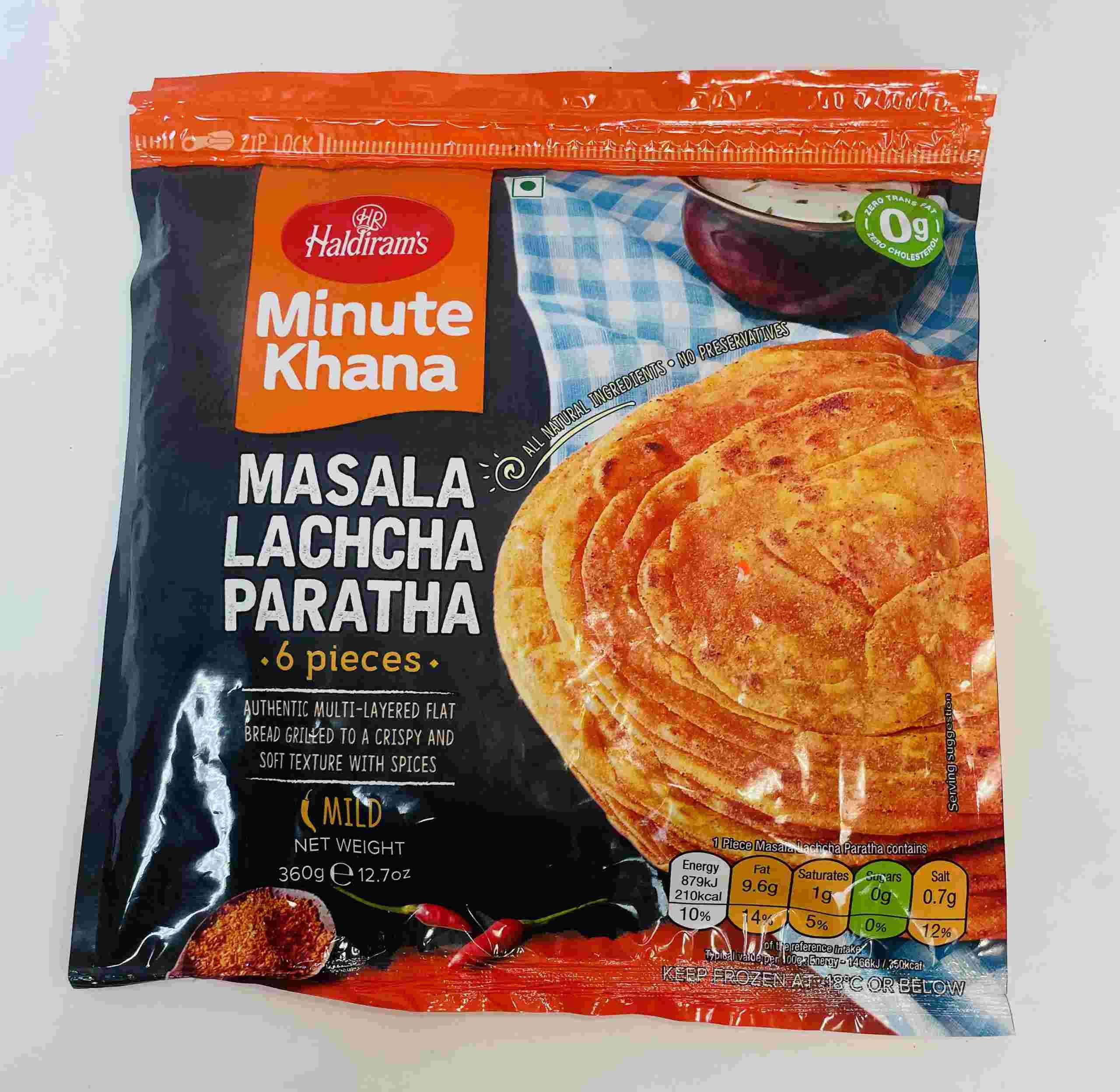 Haldiram's Masala Lachcha Paratha