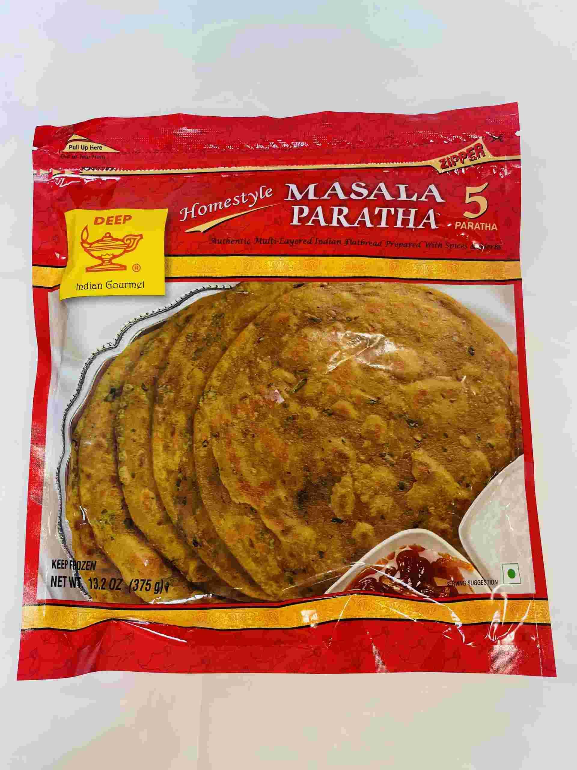 Deep  Masala Paratha 5 Pieces