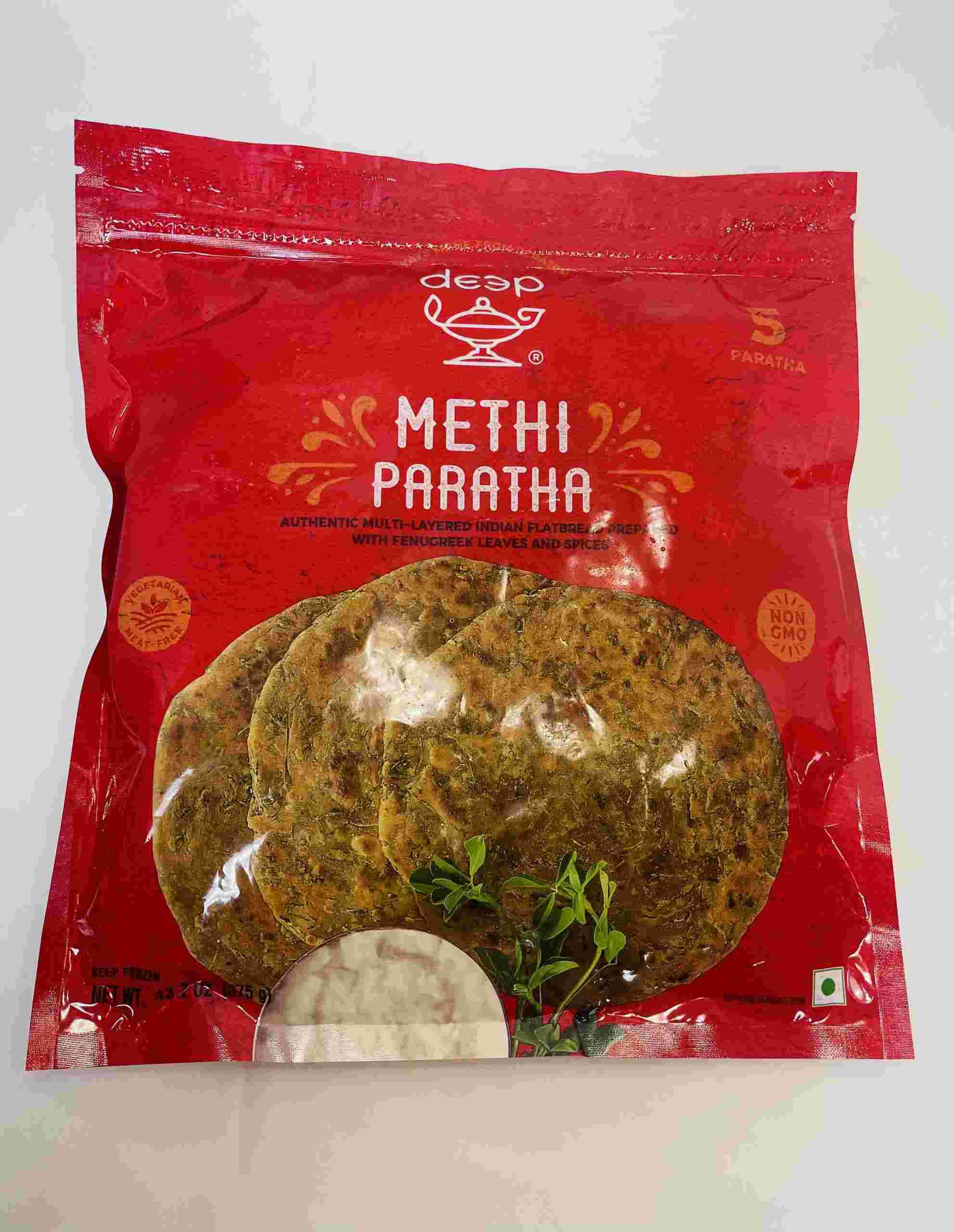 Deep  Methi Paratha 5Pieces