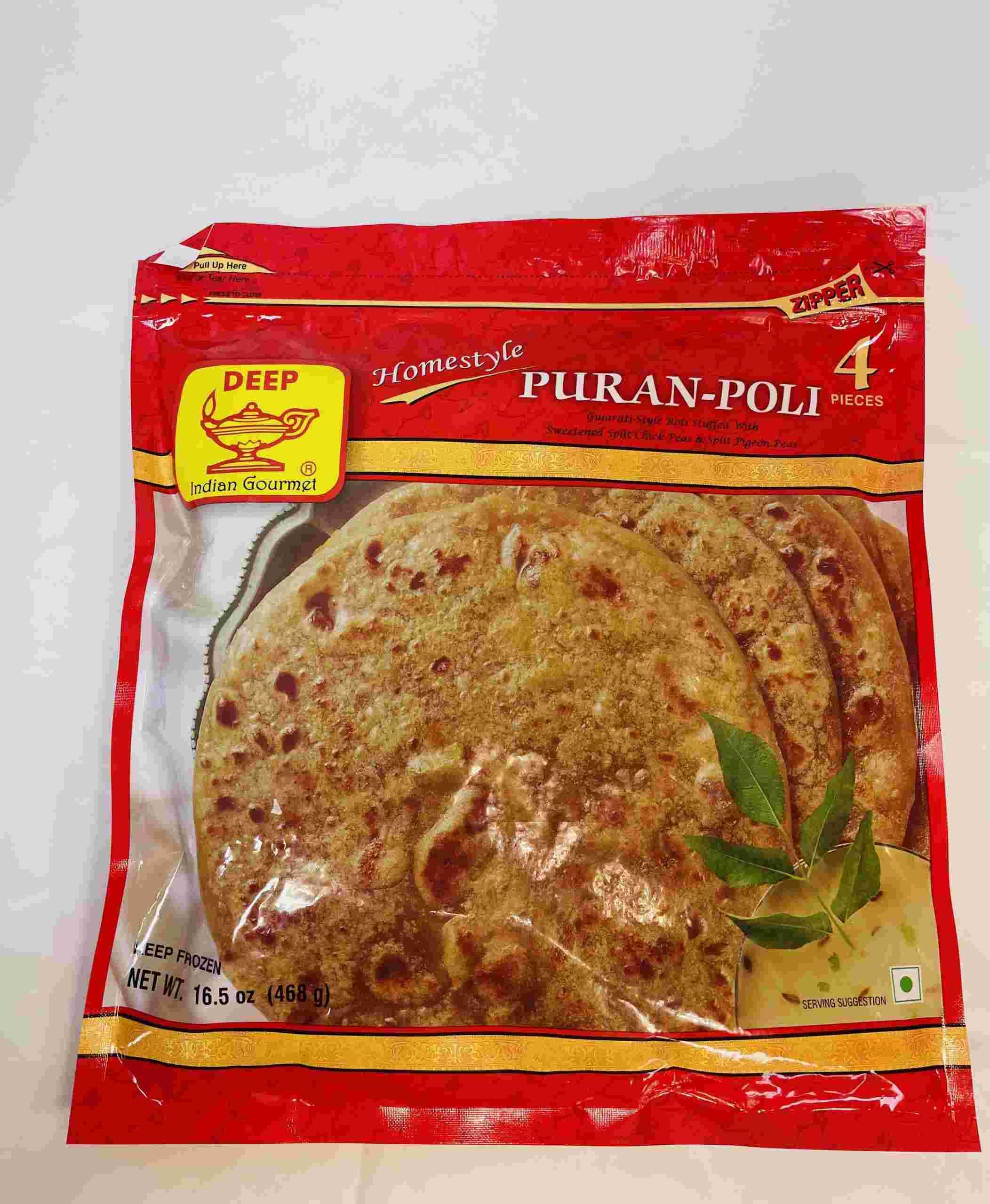 Deep  Puran-Poli 4 Pieces